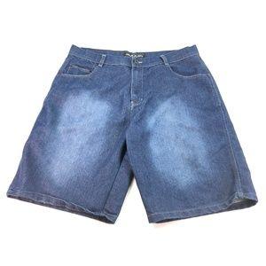 Hawk's Bay USA Men Jeans Bermuda Shorts Sz 38 O130